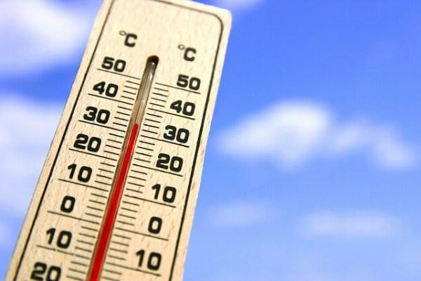 温度計と温度上昇
