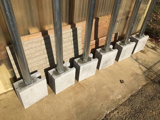 支柱の作り方