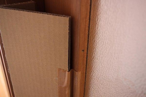 ドアの隙間